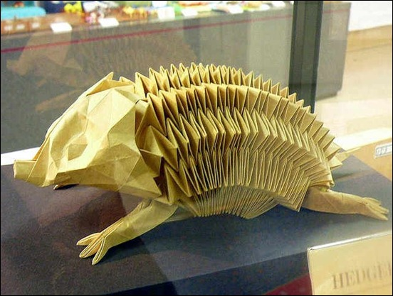 origami-hedgehog