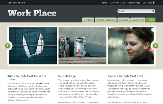 Best Business WordPress Themes for Company Websites-Work Place