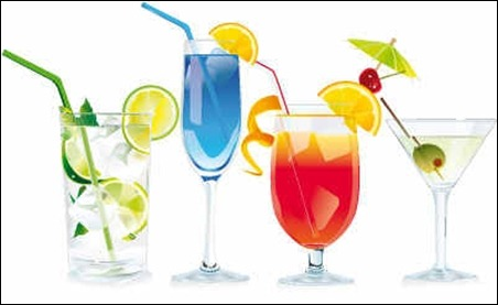 free-cocktails-vector-graphics