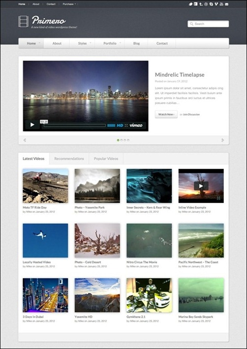 primero-video-wordpress-theme