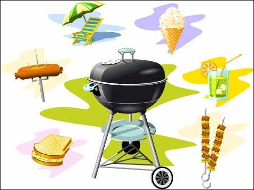 free-barbecue-grill-vector-graphics