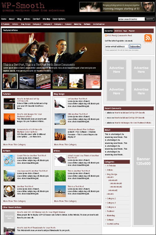 WP Smooth Theme