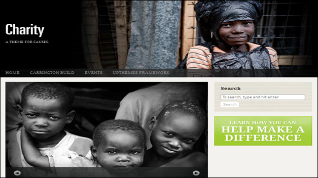 charity Church website templates