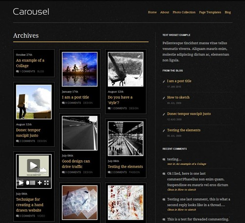 carousel-wordpress-gallery-theme