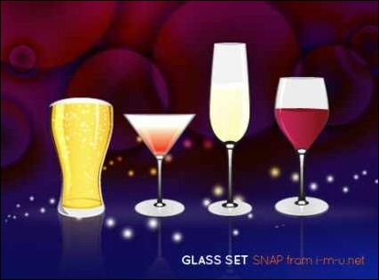 vector-glass-set
