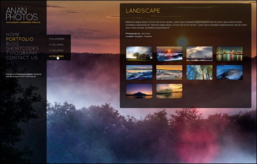 anan-wordpress-gallery-theme