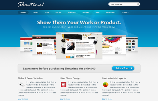 Best Business WordPress Themes for Company Websites-Showtime