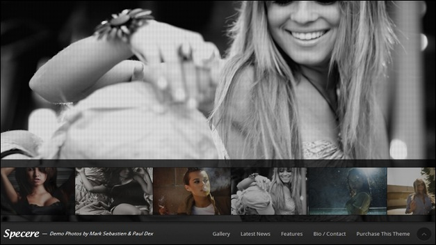 Specere WordPress Photography Themes