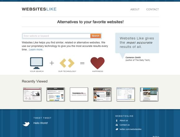 22 Inspiring and Useful Websites