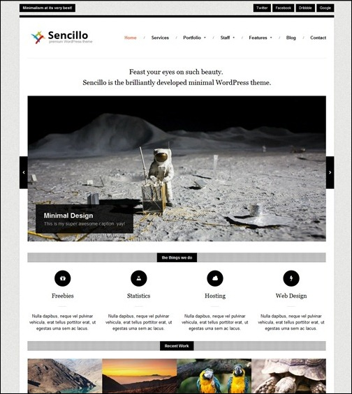 sencillo-responsive-minimal-website-template