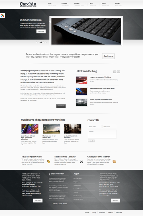 Archin - Premium Business WordPress Theme