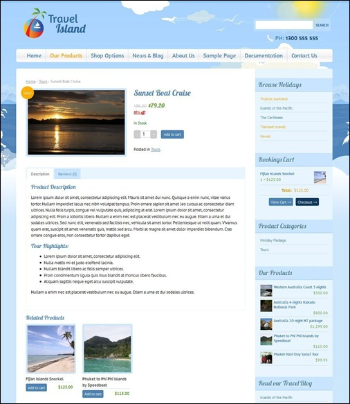 travel-island-responsice-ecommerce-theme