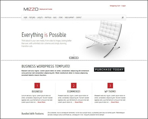 mizzo-business-theme