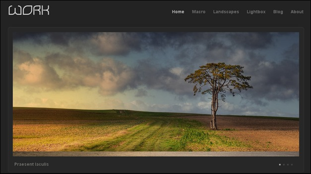 photography website templates work