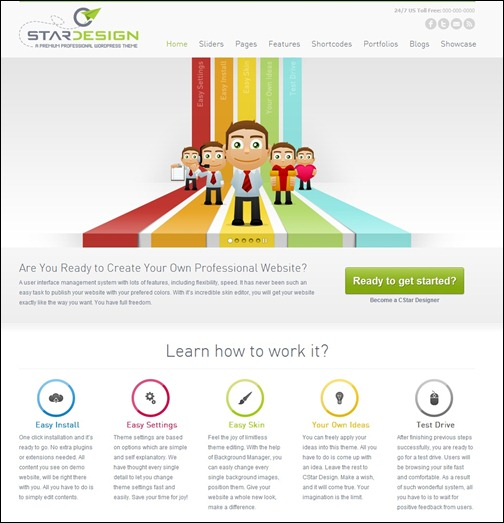 cstar-design-wordpress-theme