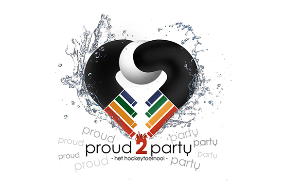 Proud2Party Tournament Logo