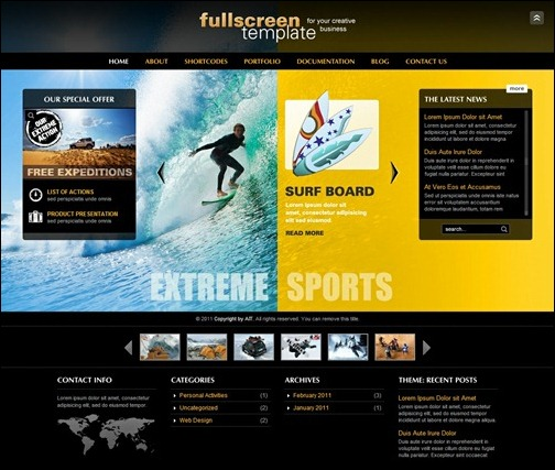 fullscreen-business-theme