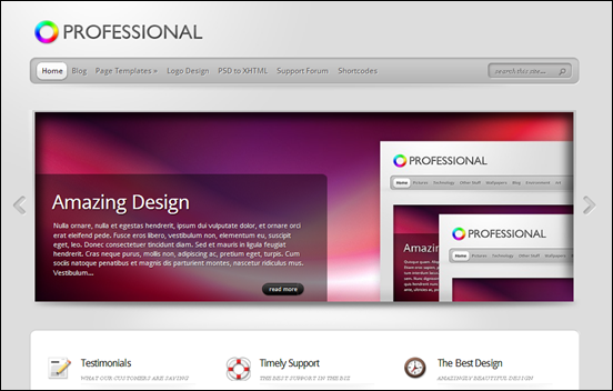 Best Business WordPress Themes for Company Websites-Professional