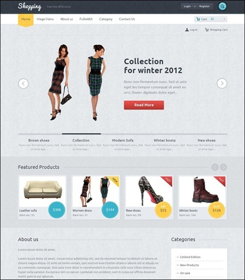 shopping-commerce-theme