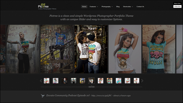 photography website templates pictree