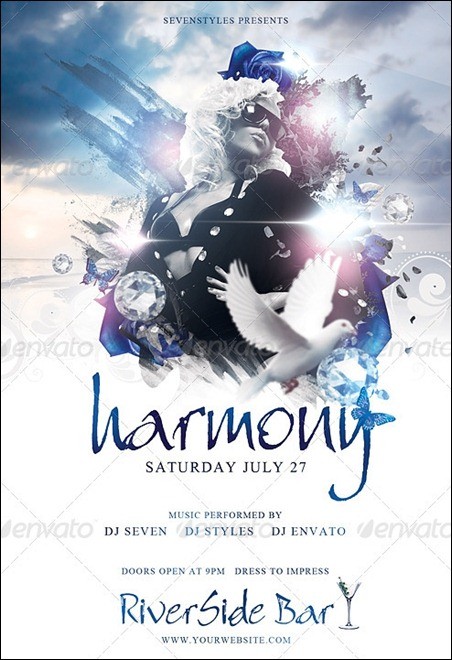 harmony-flyer-template