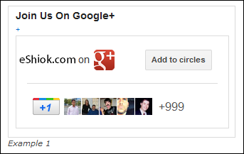 Google Plus Badge Direct Connect
