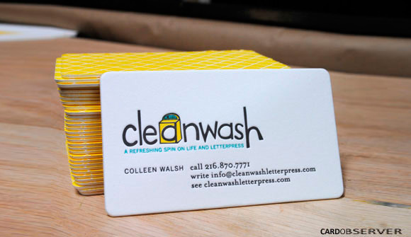 CleanWash Letterpress