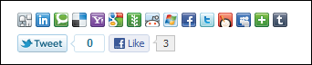 iShare jQuery Sharing Buttons