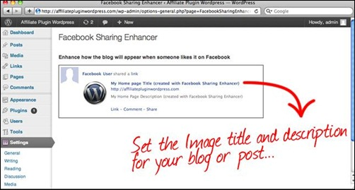Facebook Sharing Enhancer