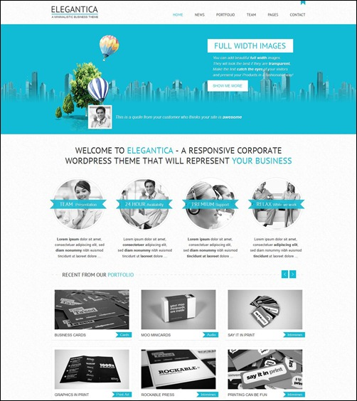 elegantica-wordpress-business-theme