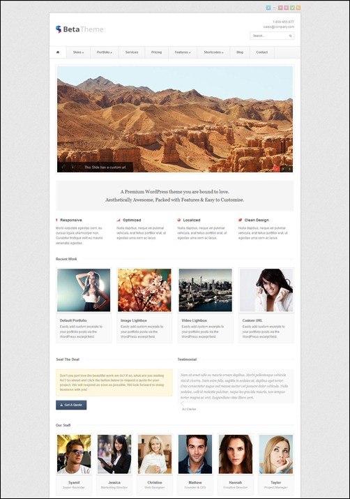 beta-wordpress-business-theme