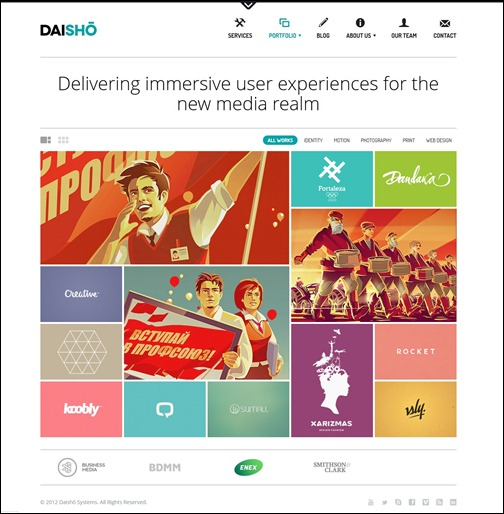 daisho-flexible-wordpress-portfolio-theme