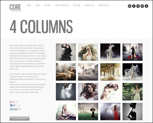 core-gallery-wordpress-theme
