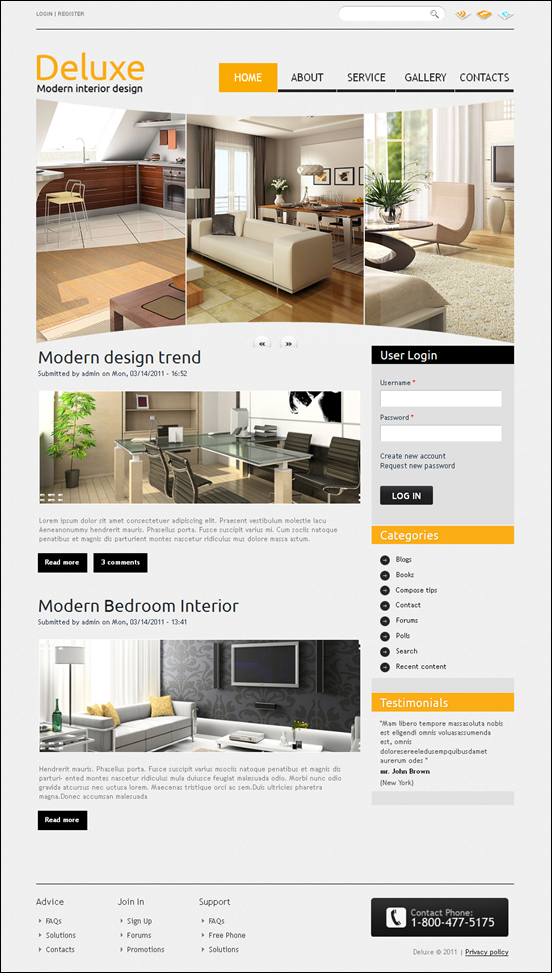 deluxe-drupal-7-theme