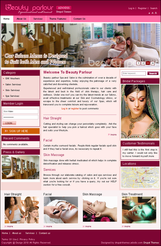 beautiful-drupal-7-theme