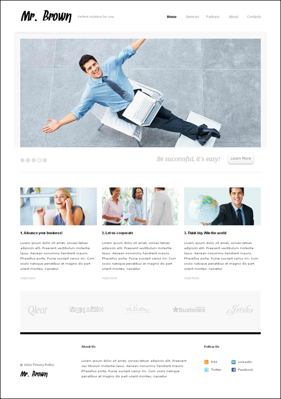 mr brown-drupal-7-theme