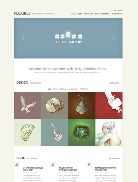 flexible-responsive-portfolio-theme