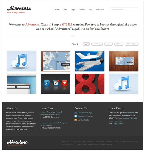 adventure-clean-simple-wordpress-theme