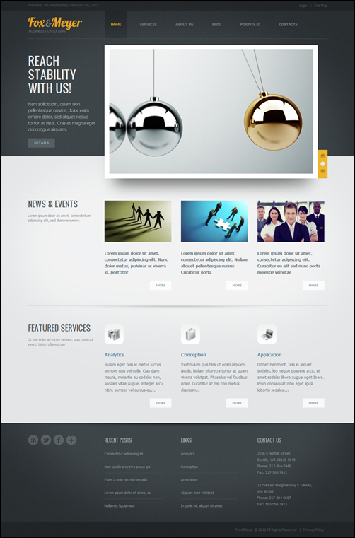 Fox & Meyer-drupal-7-theme