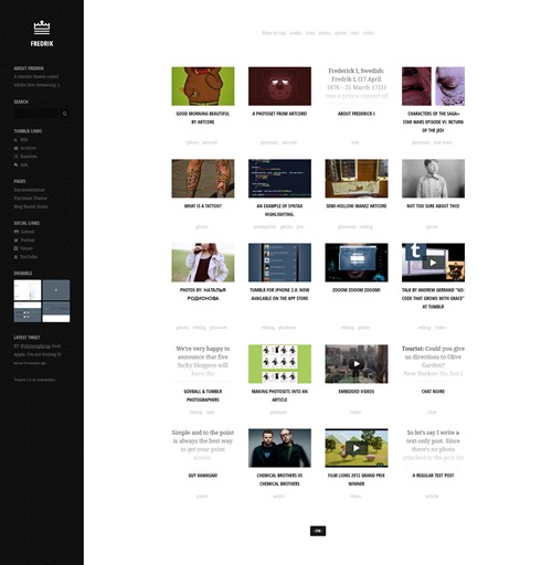 Fredrik-tumblr-theme