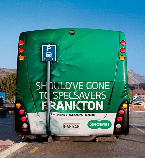 Specsavers: Bus Back Crash