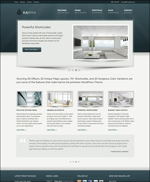 karma-clean-and-modern-wordpress-theme