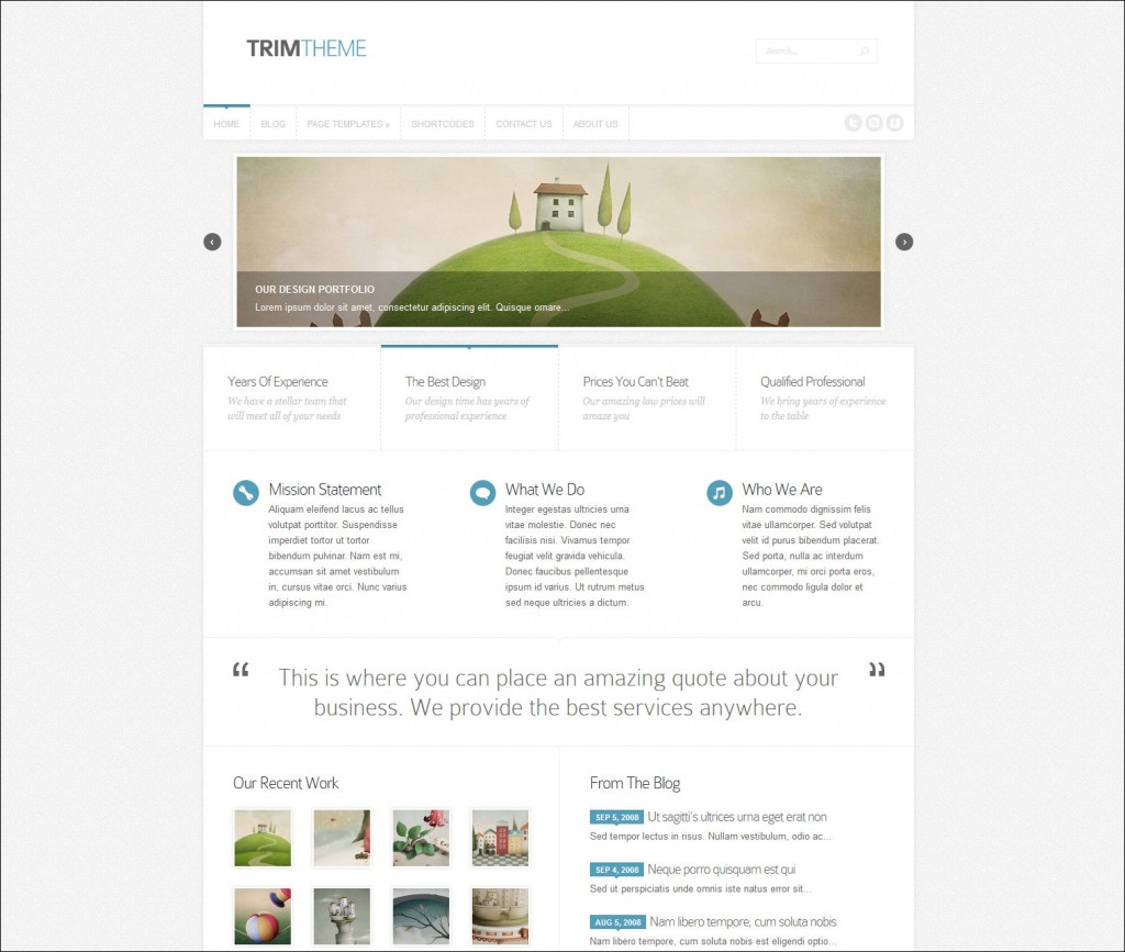 trim theme top wordpress theme