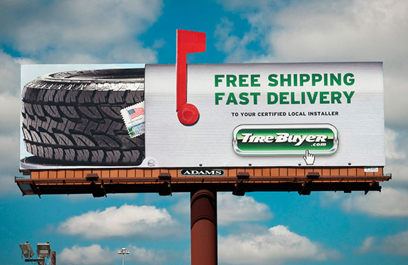 Tirebuyer.com: Mailbox Billboard