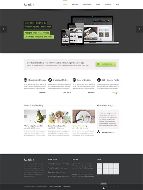 avada top wordpress themes