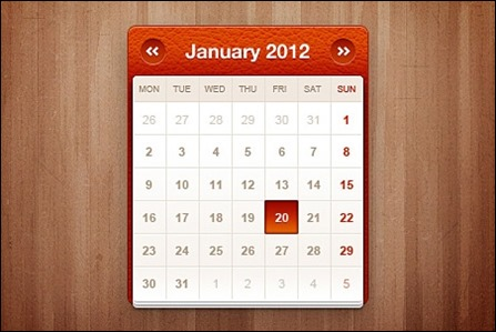 little-calendar-widget