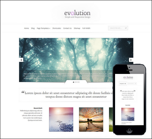 evolution-responsive-wordpress-photo-theme