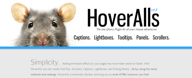 HoverAlls, jQuery Image Plugin