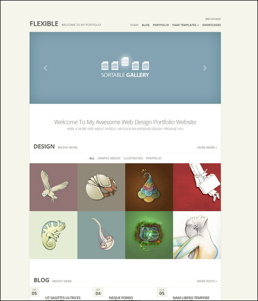 flexible-responsive-minimal-theme