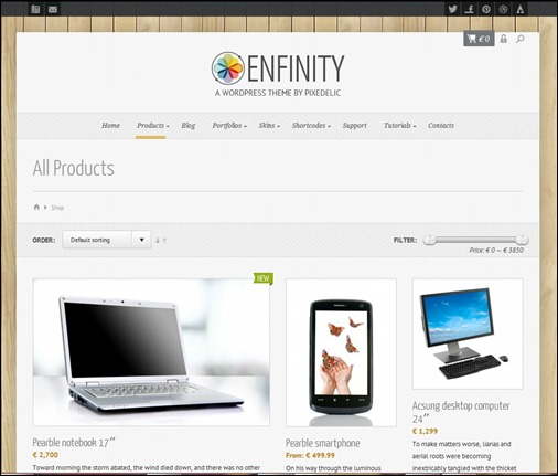 enfinity-adaptive-ecommerce-theme